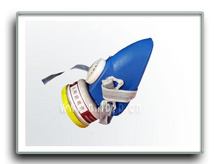 简型单缸防毒口罩