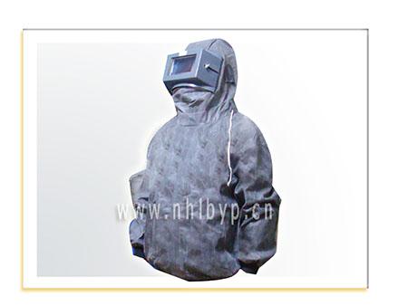 喷砂防护服-橡胶喷砂衣-打砂衣-防砂服