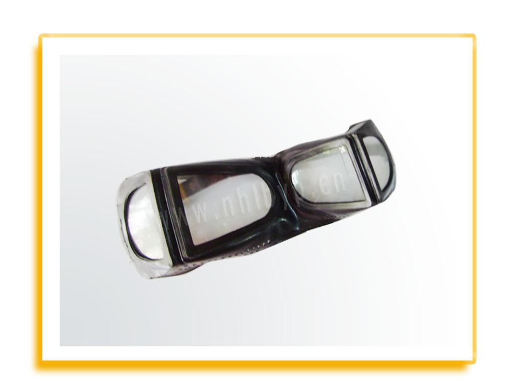 四折小防尘眼镜