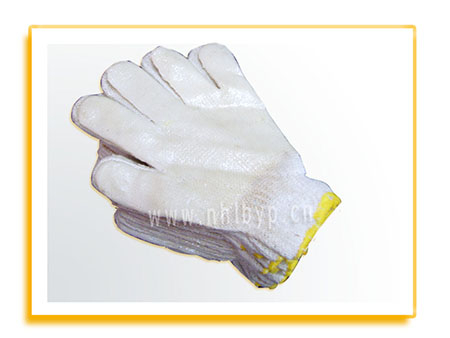 劳保手套-浸胶线手套