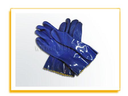 劳保手套-耐油浸塑手套