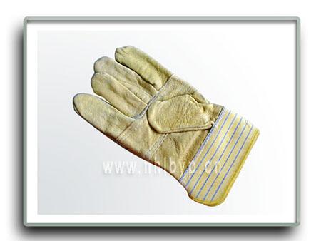 劳保手套-花皮电焊手套