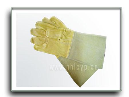 劳保手套-长皮电焊手套