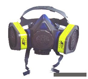 硅胶防毒半面具,方便实用的防毒面具