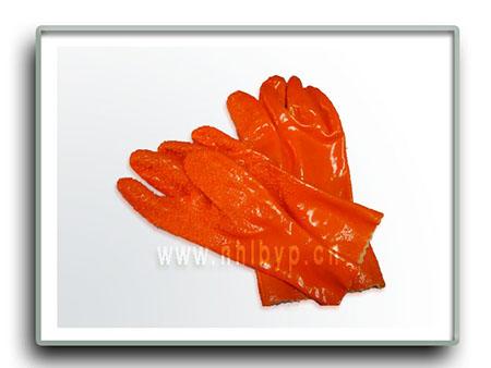 劳保手套-防滑浸塑手套