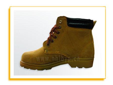 NH-007牛筋底防砸耐油耐磨牛皮鞋