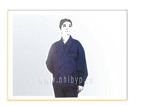 NH004A款牛仔职业装-工装-工服-订做工作服