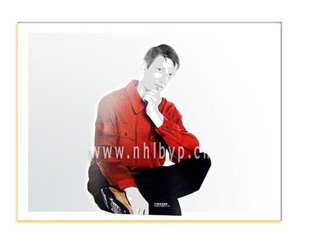NH0312款纯棉双层双色夹克职业装-工装-工服-订做工作服