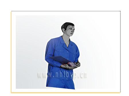 NH0508款长袖细帆布职业装-工装-工服-订做工作服