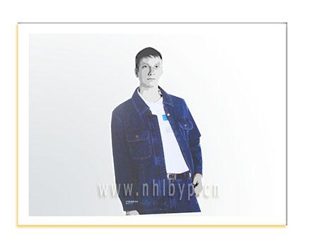 NH0516款加厚牛仔职业装-工装-工服-订做工作服