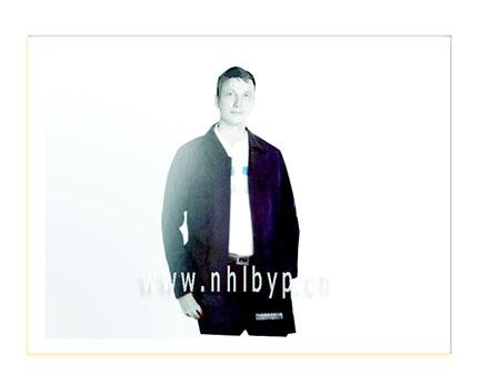 NH0704款纯棉厚帆布单项奖层夹克(藏蓝)