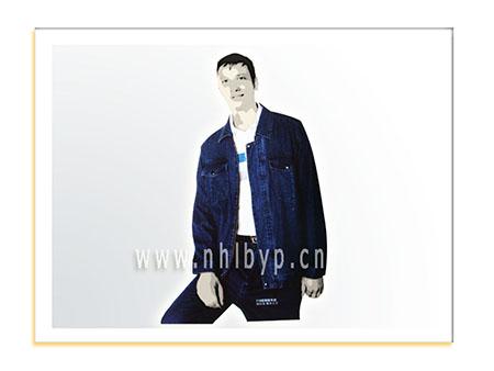 NH0716款精梳牛仔夹克套装职业装-工装-工服