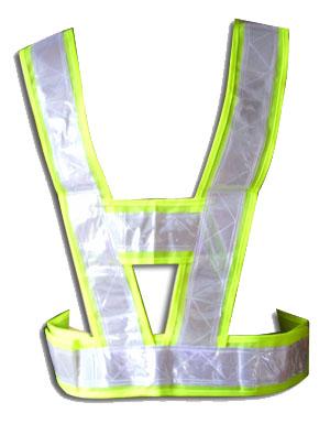 V形的反光背心